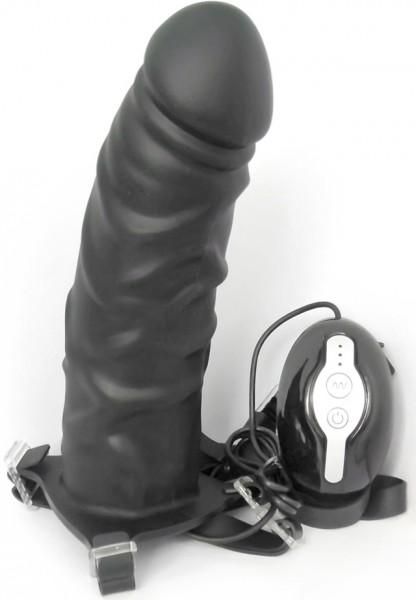 MOJO Throttle vibrierender Strap-On hohl