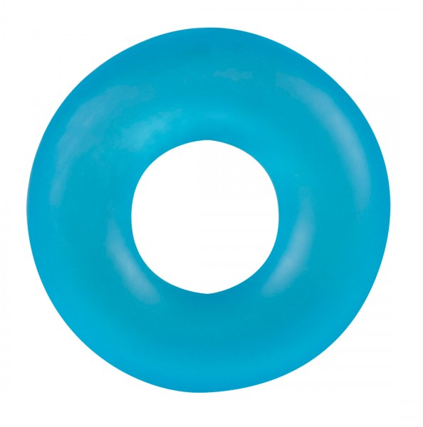 Stretchy Frosted Blue Cockring