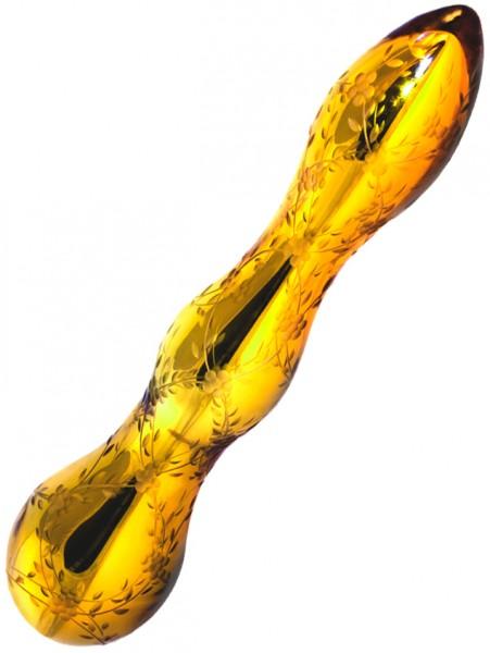 Shiri Zinn Gold Mirror Glass