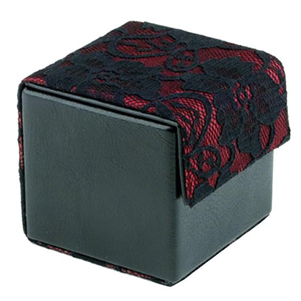 DEVINE Condom Cube Black & Wine Lace