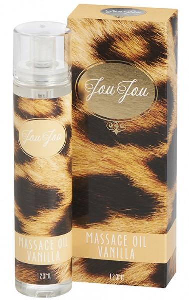JouJou Massageöl Vanilla 120ml