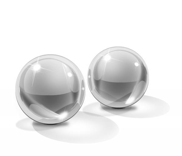 Icicles Glass Ben-Wa Liebeskugeln | Größe S oder M
