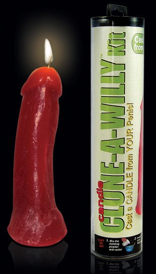 Clone-A-Willy Candle Kit Penisabdruckset