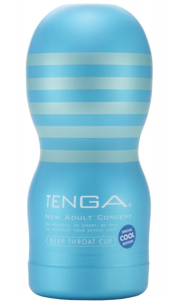 TENGA Deep Throat Cup Cool Edition
