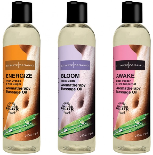 Intimate Organics Aromatherapie Massageöl 240ml