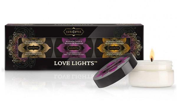 Kama Sutra Love Lights 3er Set 459g (3x153g)