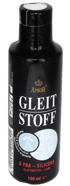 AMOR Gleitstoff X-Tra Silicone Gleitgel 100 ml