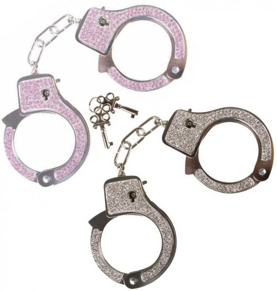 Razzle Dazzle Diamond Love Cuffs