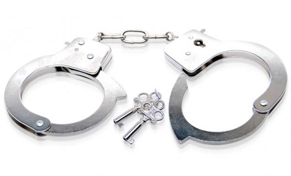 Fetish Fantasy Beginner Metal Handcuffs Handschellen