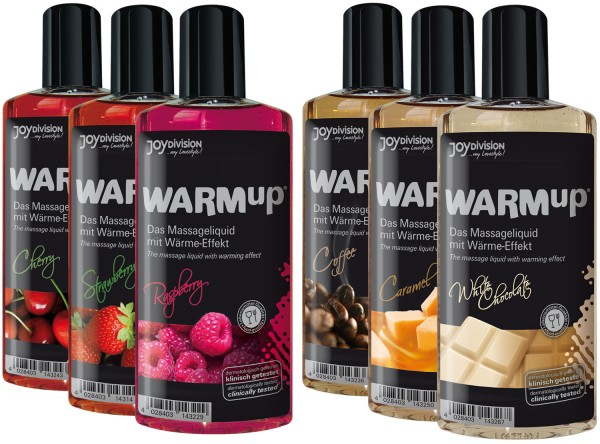 WARMup Massageöl 150ml