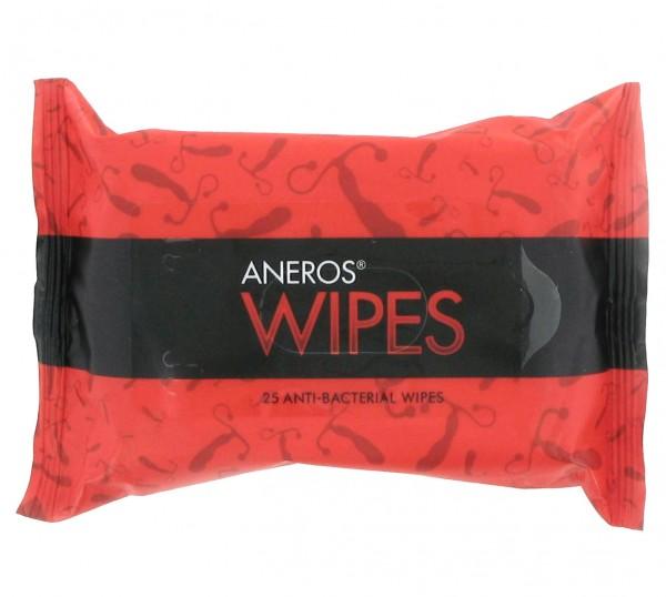 Aneros Wipes 25 Antibakterielle Reinigungstücher