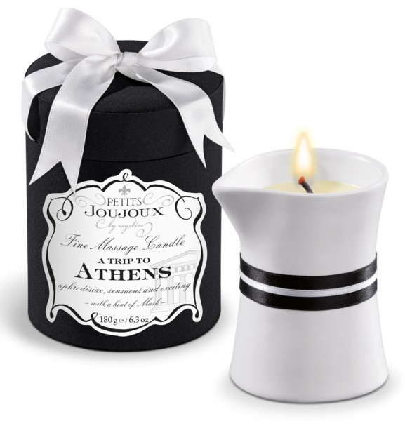 Petits Joujoux A Trip To Athens Fine Massage Candle 190g