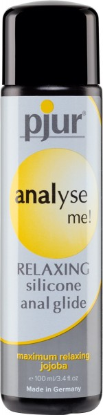 pjur analyse me! Relaxing Silicone Anal Glide 100ml