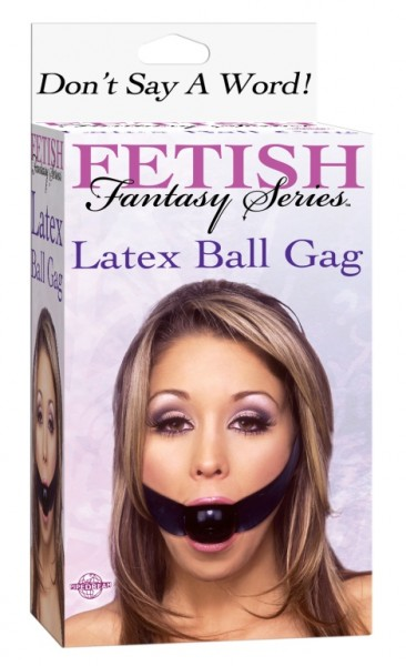 Fetish Fantasy Latex Ball Gag