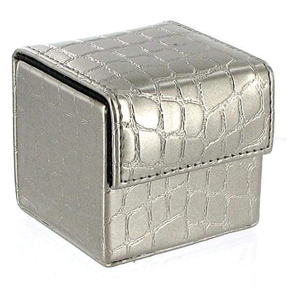 DEVINE Condom Cube Silver Croco