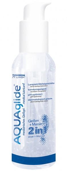 AQUAglide 2 in 1 Gleitgel & Massagegel 125ml