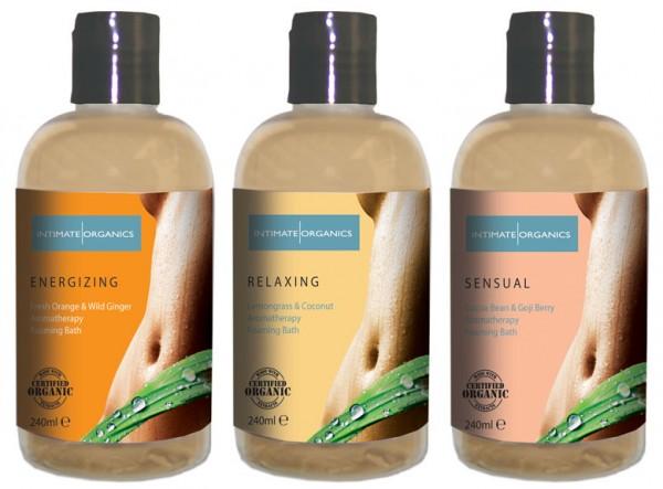 Intimate Organics Aromatherapy Foaming Bath 240ml